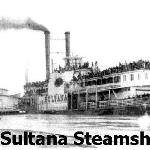 Union Soldiers (mostly freed prisoners) on the Sultana at Helena Harbor 1865.  The Sultana was destroyed in an explosion on April 26, 1865 & was the greatest Maritime Disaster in US history.