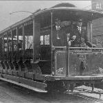 Helena's electric trolleys. From Cherry street to West Helena and back at the turn of the century.