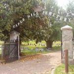 Maple Hill Cemetery Holly Street, Helena Est. over 161 years ago & has a large, hilly terrain with impressive gravestones of art made from granite & alabaster.  Helena generals Thomas C. Hindman & James A. Tappan are buried in Maple Hill Cemetery.