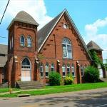 Another view of the Centennial Baptist Church